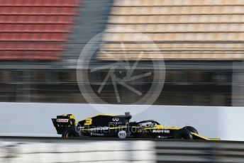World © Octane Photographic Ltd. Formula 1 – Winter Testing - Test 1 - Day 3. Renault Sport F1 Team RS19 – Daniel Ricciardo. Circuit de Barcelona-Catalunya. Wednesday 20th February 2019.