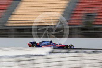 World © Octane Photographic Ltd. Formula 1 – Winter Testing - Test 1 - Day 3. Scuderia Toro Rosso STR14 – Daniil Kvyat. Circuit de Barcelona-Catalunya. Wednesday 20th February 2019.