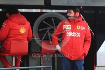 World © Octane Photographic Ltd. Formula 1 - Winter Testing - Test 1 - Day 4. Mattia Binotto – Team Principal of Scuderia Ferrari. Circuit de Barcelona-Catalunya. Thursday 21st February 2019