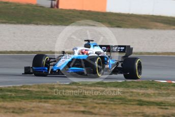 World © Octane Photographic Ltd. Formula 1 – Winter Testing - Test 1 - Day 4. ROKiT Williams Racing – Robert Kubica. Circuit de Barcelona-Catalunya. Thursday 21st February 2019.