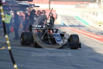 World © Octane Photographic Ltd. Formula 1 – Winter Testing - Test 1 - Day 4. Rich Energy Haas F1 Team VF19 – Kevin Magnussen. Circuit de Barcelona-Catalunya. Thursday 21st February 2019.