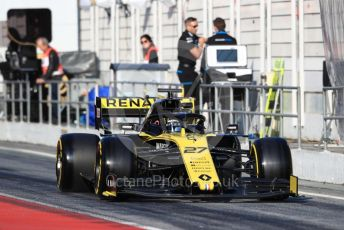 World © Octane Photographic Ltd. Formula 1 – Winter Testing - Test 1 - Day 4. Renault Sport F1 Team RS19 – Nico Hulkenberg. Circuit de Barcelona-Catalunya. Thursday 21st February 2019.