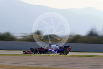 World © Octane Photographic Ltd. Formula 1 – Winter Testing - Test 1 - Day 4. Scuderia Toro Rosso STR14 – Alexander Albon. Circuit de Barcelona-Catalunya. Thursday 21st February 2019.