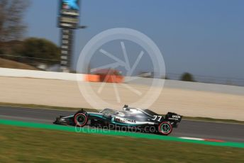 World © Octane Photographic Ltd. Formula 1 – Winter Testing - Test 1 - Day 4. Mercedes AMG Petronas Motorsport AMG F1 W10 EQ Power+ - Valtteri Bottas. Circuit de Barcelona-Catalunya. Thursday 21st February 2019.