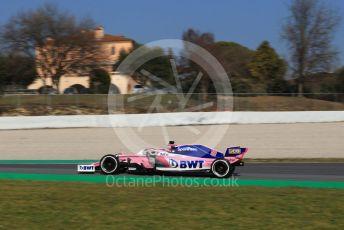 World © Octane Photographic Ltd. Formula 1 – Winter Testing - Test 1 - Day 4. SportPesa Racing Point RP19 – Lance Stroll. Circuit de Barcelona-Catalunya. Thursday 21st February 2019.
