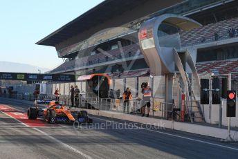 World © Octane Photographic Ltd. Formula 1 – Winter Testing - Test 2 - Day 1. McLaren MCL34 – Lando Norris. Circuit de Barcelona-Catalunya. Tuesday 26th February 2019.
