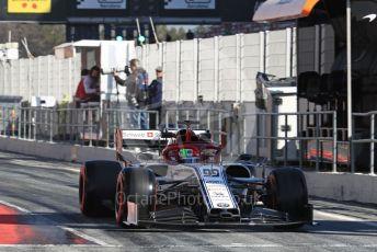 World © Octane Photographic Ltd. Formula 1 – Winter Testing - Test 2 - Day 1. Alfa Romeo Racing C38 – Antonio Giovinazzi. Circuit de Barcelona-Catalunya. Tuesday 26th February 2019