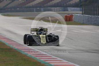 World © Octane Photographic Ltd. Formula 1 – Winter Testing - Test 2 - Day 1. Renault Sport F1 Team RS19 – Daniel Ricciardo. Circuit de Barcelona-Catalunya. Tuesday 26th February 2019.