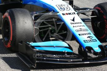 World © Octane Photographic Ltd. Formula 1 – Winter Testing - Test 2 - Day 1. ROKiT Williams Racing – George Russell. Circuit de Barcelona-Catalunya. Tuesday 26th February 2019.