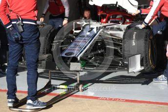 World © Octane Photographic Ltd. Formula 1 – Winter Testing - Test 2 - Day 2. Alfa Romeo Racing C38 – Kimi Raikkonen. Circuit de Barcelona-Catalunya. Wednesday 27th February 2019.