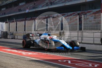 World © Octane Photographic Ltd. Formula 1 – Winter Testing - Test 2 - Day 2. ROKiT Williams Racing – Robert Kubica. Circuit de Barcelona-Catalunya. Wednesday 27th February 2019.