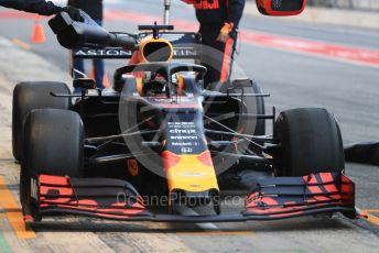 World © Octane Photographic Ltd. Formula 1 – Winter Testing - Test 2 - Day 3. Aston Martin Red Bull Racing RB15 – Pierre Gasly. Circuit de Barcelona-Catalunya. Thursday 28th February 2019.