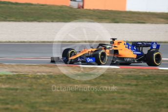 World © Octane Photographic Ltd. Formula 1 – Winter Testing - Test 2 - Day 3. McLaren MCL34 – Lando Norris. Circuit de Barcelona-Catalunya. Thursday 28th February 2019.