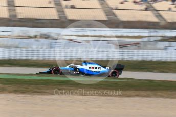 World © Octane Photographic Ltd. Formula 1 – Winter Testing - Test 2 - Day 3. ROKiT Williams Racing – George Russell. Circuit de Barcelona-Catalunya. Thursday 28th February 2019.