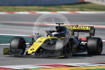 World © Octane Photographic Ltd. Formula 1 – Winter Testing - Test 2 - Day 4. Renault Sport F1 Team RS19 – Daniel Ricciardo. Circuit de Barcelona-Catalunya. Friday 1st March 2019.
