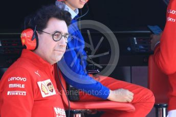 World © Octane Photographic Ltd. Formula 1 - Winter Testing - Test 2 - Day 3. Mattia Binotto – Team Principal of Scuderia Ferrari. Circuit de Barcelona-Catalunya. Friday 1st March 2019