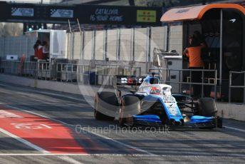 World © Octane Photographic Ltd. Formula 1 – Winter Testing - Test 2 - Day 4. ROKiT Williams Racing – Robert Kubica. Circuit de Barcelona-Catalunya. Friday 1st March 2019.