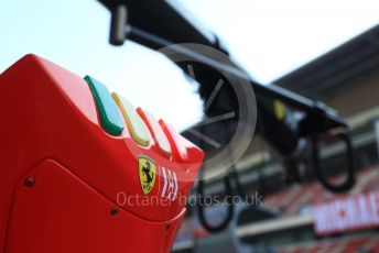 World © Octane Photographic Ltd. Formula 1 – Winter Testing - Test 2 - Day 4. Scuderia Ferrari pit lights . Circuit de Barcelona-Catalunya. Friday 1st March 2019.