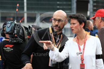 World © Octane Photographic Ltd. Formula 1 – Belgium GP - Grid. Keegan-Michael Key. Circuit de Spa Francorchamps, Belgium. Sunday 1st September 2019.