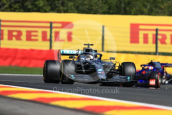 World © Octane Photographic Ltd. Formula 1 – Belgium GP - Practice 1. Mercedes AMG Petronas Motorsport AMG F1 W10 EQ Power+ - Lewis Hamilton. Circuit de Spa Francorchamps, Belgium. Friday 30th August 2019.