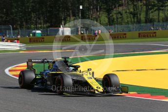 World © Octane Photographic Ltd. Formula 1 – Belgium GP - Practice 1. Renault Sport F1 Team RS19 – Daniel Ricciardo. Circuit de Spa Francorchamps, Belgium. Friday 30th August 2019.