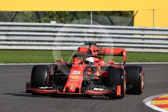 World © Octane Photographic Ltd. Formula 1 – Belgium GP - Practice 1. Scuderia Ferrari SF90 – Sebastian Vettel. Circuit de Spa Francorchamps, Belgium. Friday 30th August 2019.