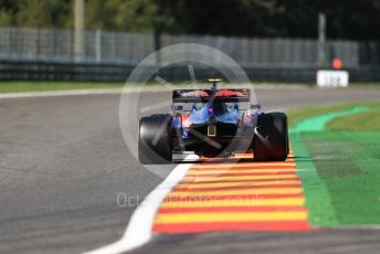 World © Octane Photographic Ltd. Formula 1 – Belgium GP - Practice 2. Scuderia Toro Rosso - Pierre Gasly. Circuit de Spa Francorchamps, Belgium. Friday 30th August 2019.