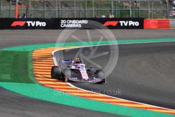 World © Octane Photographic Ltd. Formula 1 – Belgium GP - Practice 2. SportPesa Racing Point RP19 – Lance Stroll. Circuit de Spa Francorchamps, Belgium. Friday 30th August 2019.