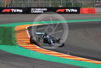 World © Octane Photographic Ltd. Formula 1 – Belgium GP - Practice 2. Mercedes AMG Petronas Motorsport AMG F1 W10 EQ Power+ - Lewis Hamilton. Circuit de Spa Francorchamps, Belgium. Friday 30th August 2019.