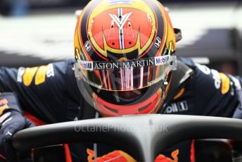 World © Octane Photographic Ltd. Formula 1 – Belgium GP - Practice 3. Aston Martin Red Bull Racing RB15 – Alexander Albon. Circuit de Spa Francorchamps, Belgium. Saturday 31st August 2019.
