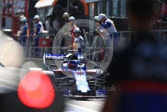 World © Octane Photographic Ltd. Formula 1 – Belgium GP - Practice 3. Scuderia Toro Rosso STR14 – Daniil Kvyat. Circuit de Spa Francorchamps, Belgium. Saturday 31st August 2019.