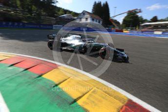 World © Octane Photographic Ltd. Formula 1 – Belgium GP - Qualifying. Mercedes AMG Petronas Motorsport AMG F1 W10 EQ Power+ - Lewis Hamilton. Circuit de Spa Francorchamps, Belgium. Saturday 31st August 2019.