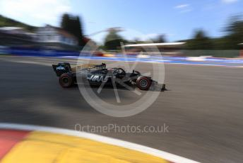 World © Octane Photographic Ltd. Formula 1 – Belgium GP - Qualifying. Rich Energy Haas F1 Team VF19 – Kevin Magnussen. Circuit de Spa Francorchamps, Belgium. Saturday 31st August 2019