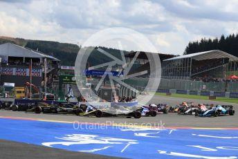World © Octane Photographic Ltd. Formula 1 – Belgium GP - Race. Renault Sport F1 Team RS19 – Nico Hulkenberg. Circuit de Spa Francorchamps, Belgium. Sunday 1st September 2019.