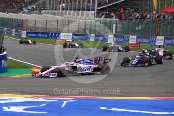 World © Octane Photographic Ltd. Formula 1 – Belgium GP - Race. SportPesa Racing Point RP19 - Sergio Perez. Circuit de Spa Francorchamps, Belgium. Sunday 1st September 2019.