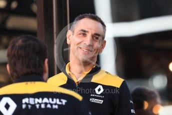 World © Octane Photographic Ltd. Formula 1 - Belgium GP - Paddock. Cyril Abiteboul - Managing Director of Renault Sport Racing Formula 1 Team. Circuit de Spa Francorchamps, Belgium. Friday 29th August 2019.