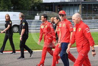 World © Octane Photographic Ltd. Formula 1 – Belgium GP - Paddock. Scuderia Ferrari SF90 – Charles Leclerc. Circuit de Spa Francorchamps, Belgium. Thursday 28th August 2019.