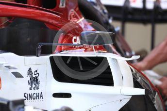 World © Octane Photographic Ltd. Formula 1 – Belgium GP - Pit Lane. Alfa Romeo Racing C38. Circuit de Spa Francorchamps, Belgium. Thursday 28th August 2019.