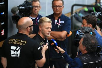 World © Octane Photographic Ltd. Formula 1 – Belgium GP - Paddock. Rich Energy Haas F1 Team VF19 – Kevin Magnussen. Circuit de Spa Francorchamps, Belgium. Thursday 28th August 2019.