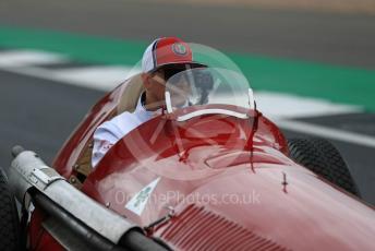 World © Octane Photographic Ltd. Formula 1 – British GP - Drivers Parade. Alfa Romeo Racing C38 – Kimi Raikkonen. Silverstone Circuit, Towcester, Northamptonshire. Sunday 14th July 2019.