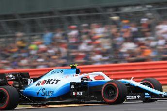 World © Octane Photographic Ltd. Formula 1 – British GP - Qualifying. ROKiT Williams Racing FW42 – Robert Kubica. Silverstone Circuit, Towcester, Northamptonshire. Saturday 13th July 2019.