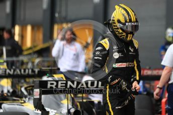 World © Octane Photographic Ltd. Formula 1 – British GP - Qualifying. Renault Sport F1 Team RS19 – Nico Hulkenberg. Silverstone Circuit, Towcester, Northamptonshire. Saturday 13th July 2019.