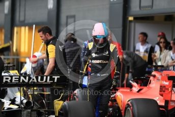World © Octane Photographic Ltd. Formula 1 – British GP - Qualifying. Renault Sport F1 Team RS19 – Daniel Ricciardo. Silverstone Circuit, Towcester, Northamptonshire. Saturday 13th July 2019.
