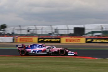World © Octane Photographic Ltd. Formula 1 – British GP - Qualifying. SportPesa Racing Point RP19 – Lance Stroll. Silverstone Circuit, Towcester, Northamptonshire. Saturday 13th July 2019.