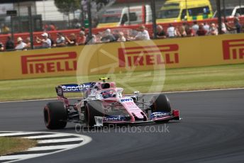 World © Octane Photographic Ltd. Formula 1 – British GP - Practice 1. SportPesa Racing Point RP19 – Lance Stroll. Silverstone Circuit, Towcester, Northamptonshire. Friday 12th July 2019.