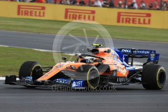 World © Octane Photographic Ltd. Formula 1 – British GP - Practice 1. McLaren MCL34 – Lando Norris. Silverstone Circuit, Towcester, Northamptonshire. Friday 12th July 2019.