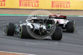 World © Octane Photographic Ltd. Formula 1 – British GP - Practice 1. Mercedes AMG Petronas Motorsport AMG F1 W10 EQ Power+ - Valtteri Bottas. Silverstone Circuit, Towcester, Northamptonshire. Friday 12th July 2019.