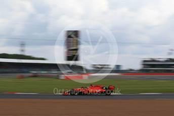 World © Octane Photographic Ltd. Formula 1 – British GP - Practice 1. Scuderia Ferrari SF90 – Sebastian Vettel. Silverstone Circuit, Towcester, Northamptonshire. Friday 12th July 2019.