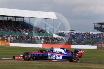 World © Octane Photographic Ltd. Formula 1 – British GP - Practice 1. Scuderia Toro Rosso STR14 – Alexander Albon. Silverstone Circuit, Towcester, Northamptonshire. Friday 12th July 2019.