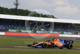 World © Octane Photographic Ltd. Formula 1 – British GP - Practice 1. McLaren MCL34 – Carlos Sainz. Silverstone Circuit, Towcester, Northamptonshire. Friday 12th July 2019.